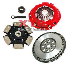 XTR STAGE 3 CLUTCH PRO-KIT+ 9.8 LBS RACE FLYWHEEL 1991-1999 SATURN SC SL SW 1.9L