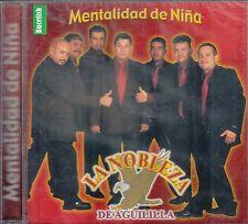 La Nobleza De Aguililla Mentalidad de Nina  CD New