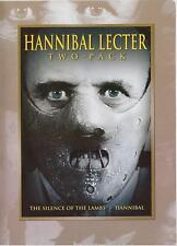 The Silence of the Lambs/Hannibal (2007, 2-DVD Set) Anthony Hopkins FREE SHIP