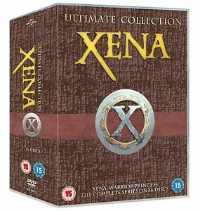 XENA WARRIOR PRINCESS The COMPLETE SERIES Ultimate Collection SEASONS 1-6 DVD R4