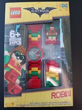 NEW Lego Batman Movie Kids Watch Robin 8020868 24pc clickable buildable minifig