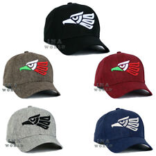 f0f334d31938e2 Mexican hat Hecho En Mexico Aguila Eagle Twill Snapback Curved bill Baseball  cap