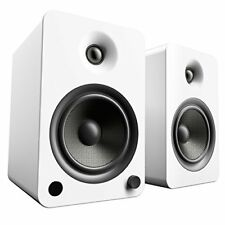 Kanto YU6 Powered Speakers with Bluetooth and Phono Preamp - Matte White