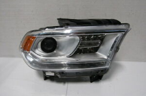 2014-2018 DURANGO OEM RIGHT XENON HID HEADLIGHT W/ DRL CHROME BEZEL T1