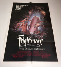 FRIGHTMARE Original Movie Poster 1983 Slasher Horror Norman Thaddeus Vane