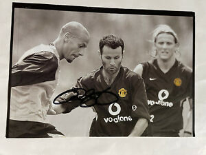 Ryan Giggs- Manchester Utd Signed Picture