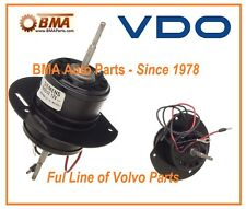 NEW OEM VDO VOLVO HEATER FAN MOTOR 142 144 145 164 240 242 244 # 1370241 9131943