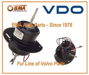 Nuovo OEM VDO Volvo Riscaldamento Ventola Motore 142 144 145 164 240 242 244 #