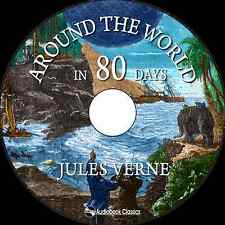 Around the World in Eighty Days - Unabridged MP3 CD Audiobook in paper sleeve