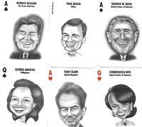 ALLSTARS 2004, THE LIBERATORS BUSH ERA PLAYING CARDS