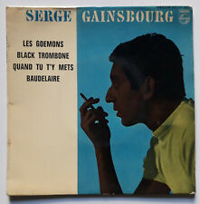 GAINSBOURG Les Goemons Rare Orig French EP PHILIPS BIEM 1962