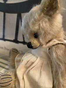 Ridibears OOAK artist bear by Rita Diesing