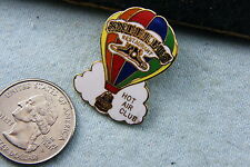 HOT AIR BALLOON PIN SNEEKER'S RESTAURANT HOT AIR CLUB