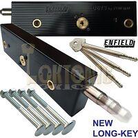 Enfield Garage Shed Van Gate Door Locks Bolts Long Key MK3