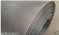 "Stainless Steel Woven Wire Mesh 8 mesh 6"" x 6"" Type 304 (filter grading sheet)"