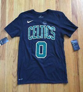 Nike NBA Boston Celtics T-Shirt Jayson Tatum Size Small Athletic Cut NEW