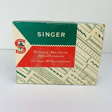 Singer Sewing Machine Attachments For Class 503 Machines, 1960's Vintage