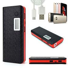 Black External 300000mAh Power Bank PackPortableUSB Battery Charger Mobile Phone