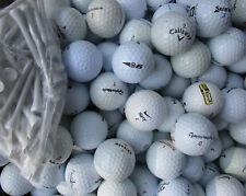 100  Golfbälle im Mix AAAA - AA + 50 Tees *