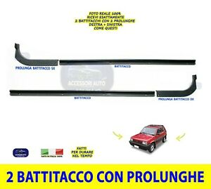 Battitacco Batticalcagno Prolunghe Fiat Panda 4x4 Country Club Prolunghe DX SX