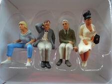 Preiser 63088 Spur I sitzende Reisende 4 Figuren