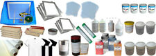 Small Set for Screen Printing:4 Color 2 Station with Material Kit for DIY Pic