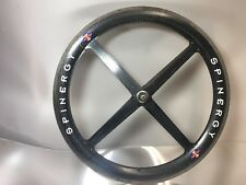 "Libor Karas Trials Front MTB Spinergy Rev X Roks Carbon Fiber 26"" Wheel Ceramic"