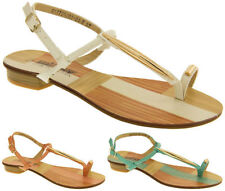 Flat (0 to 1/2 in) Beach & Pool Gladiator Sandals for Women