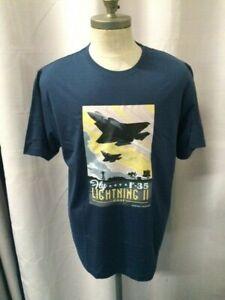 Lockheed Martin F-35 Lightning II RAAF - T-Shirt - Blue