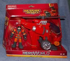 Heroworld Rescue Heroes Hal E. Copter Set