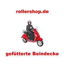 Beinschutz, Scootermantel für Roller, warmes Futter, mit Taschen