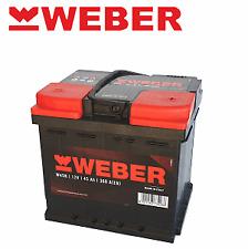 W45R BATTERIA WEBER(MARELLI) 45 AH 360A FIAT UNO PANDA RITMO 127 X 1/9 124 128