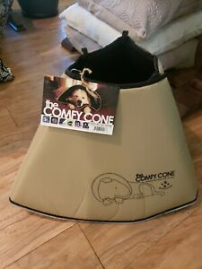 THE COMFY CONE Soft Adjustable Dog Cone (XL) from All Four Paws