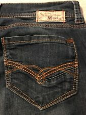 Mavi Zoe Flare Women's Stretch Blue Jeans Size 25 X 30
