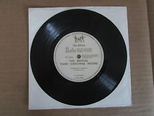 "THE BEATLES The Third Chistmas Record 7"" FLEXI DISC VERY RARE 1965 FAN CLUB ONLY"