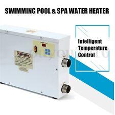 9KW 220V Piscine SPA Baignoire Réchauffeur Chauffe-eau Electrique Thermostat