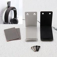 2x Kopfhörer Wandhaken Ständer Halterung Halterungen aus Aluminiumlegierung