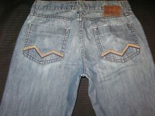 Energie Buckley Mens Jeans Low Rise Straight Distressed 31 X 29