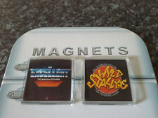 Bill and Ted's Excellent Adventure Fridge Magnet Set. Wyld Stallyns, Excellent