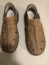 Timberland Altamont Men's Size 10M Light Brown Fisherman Sandals X5-988