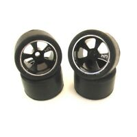 Hot Racing MCT55701 Losi 1/36 Micro-T Night Venus Low Pro Racing Wheel Tire Set