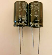 1000uF 63V  Electrolytic Capacitor 105°C Pack of 2