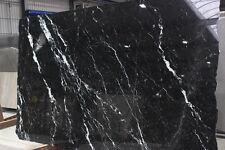 Naturstein Marmor Kalkstein Nero Marquina Tischplatte Abdeckung Fensterbank NEU