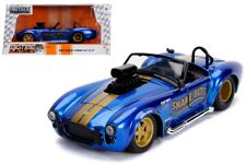 1:24 JADA BTM 1965 Shelby Cobra 427 S/C Snake Bite (Blue) Opening Parts Diecast