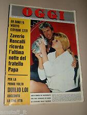 OGGI=1964/23=ANITA EKBERG=SERGIO CIANI=GEMELLE KESSLER=MADELEINE DASSAULT=MORO=