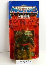 MOTU, Webstor, Masters of the Universe, MOC, carded, figure, sealed, He Man