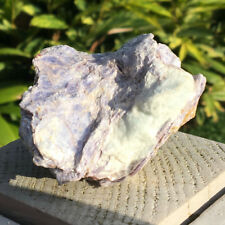 Lepidolite Mica sur Beryl/Aigue-marine 214 g #9601 Lepidolite Mica w aquamarine