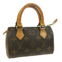 LOUIS VUITTON MINI SPEEDY 2WAY HAND BAG PURSE MONOGRAM TH0928 M41534 36092