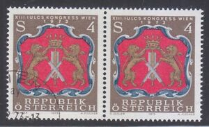 Austria 1973 MNH & CTO NH Mi 1422 Sc 951 Arms of Viennese Tanners