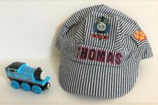 Thomas & Friends Engineer Child's Hat / Cap and Wooden Train - new